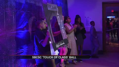 Students in South Bend attend 'Touch of Class' ball