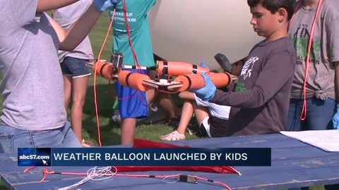 Students launch near-space balloon at EdTech in the Bend