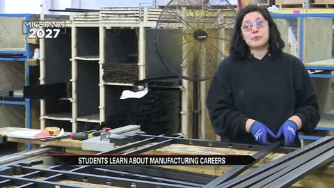 Marshall County high school students explore career opportunities in manufacturing
