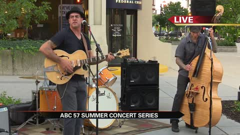 summer concert series dos hermanos band part1