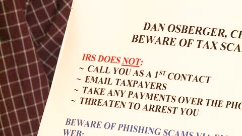 Summer tax scam on the rise in parts of Michiana