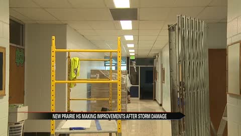 Superintendent discusses renovations to New Prairie High School