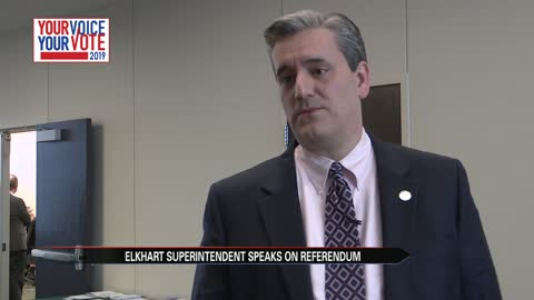Superintendent speaks with League of Women Voters about referendum