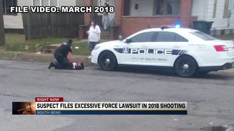 Suspect in March 2018 South Bend shooting files excessive force...