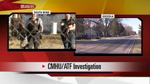 SWAT assisting ATF with weapons investigation at two sites in...