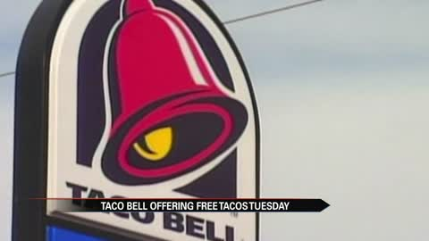 Taco Bell giving away one taco on Taco Tuesday