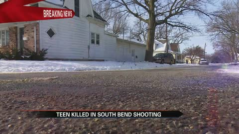 17-year-old dies after shooting, crash in South Bend