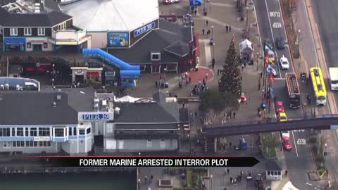 Terror attack at San Francisco's Pier 39 thwarted, federal authorities say