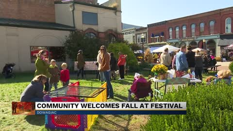 The Harvest Moon Festival in Dowagiac hosts vendors and families