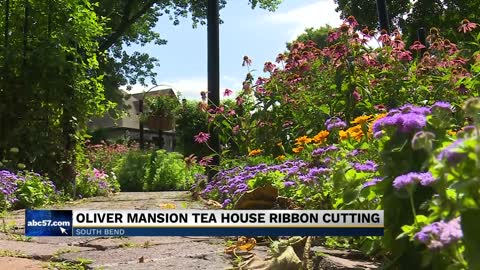 The History Museum dedicates tea house at Oliver Mansion