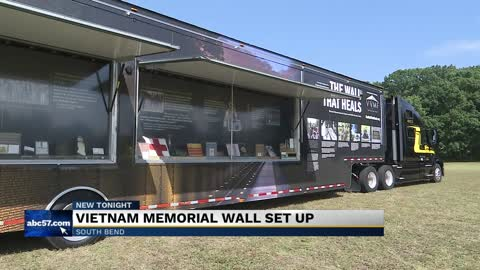 The Wall That Heals travels to South Bend