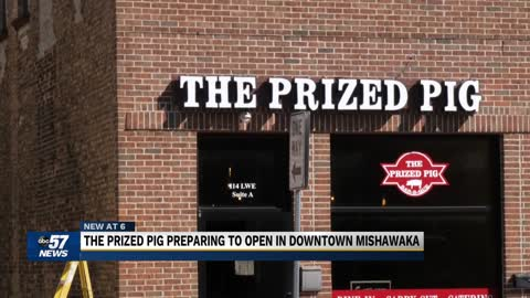 The Prized Pig preparing to open in downtown Mishawaka