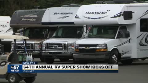 The RV Hall of Fame hosts the Annual Midwest RV Super Show