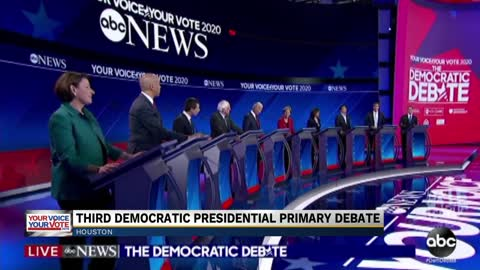 Third debate defined by health care, immigration and gun reform discussion