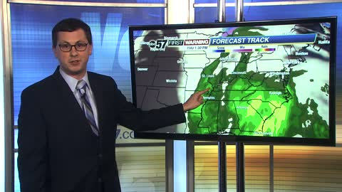 Watching strong late-week storm system