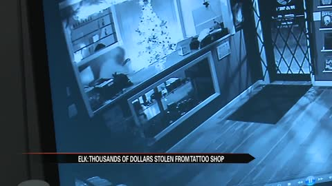 Elkhart man offering $1K after tattoo shop robbery