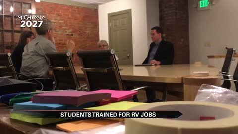 Thousands of high school students train for Elkhart's RV industry
