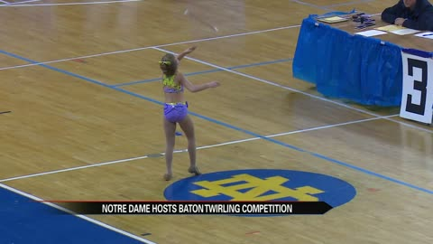 Thousands visit Notre Dame for national baton twirling competition