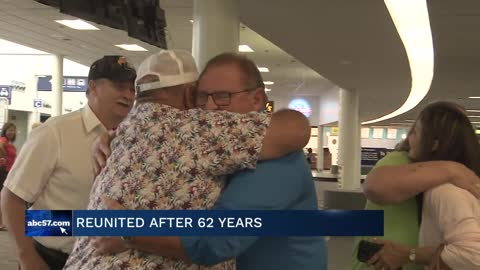 Three brothers reunite after 62 years