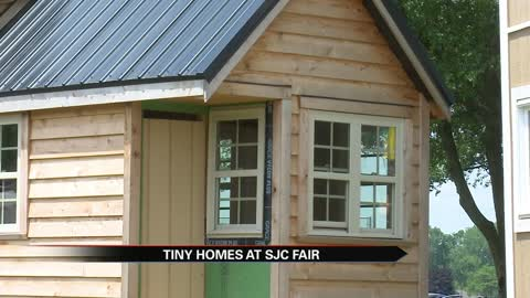 Tiny homes on display at St. Joseph County Fair