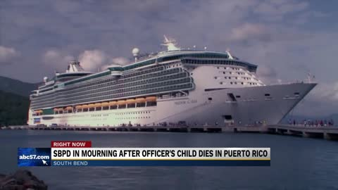 Toddler who died in fall from cruise ship was South Bend Police officer's child