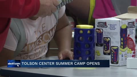 Tolson Center's youth summer camp is now in full swing