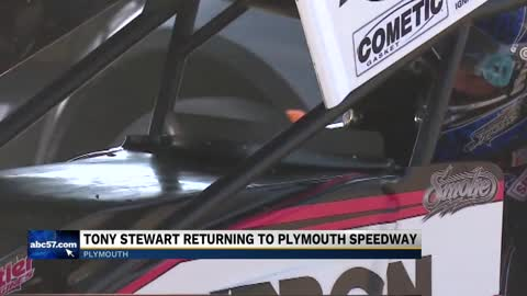 Tony Stewart set to return for race at Plymouth Speedway