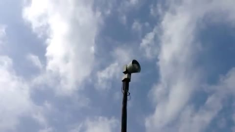 Tornado sirens to be tested during Severe Weather Preparedness...