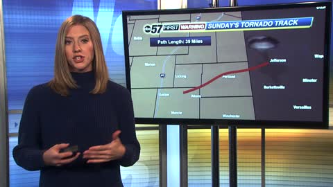 Forensic meteorology - dissecting Sunday's tornado