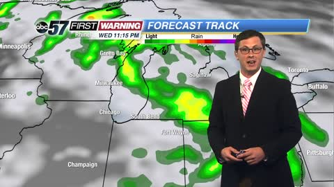 Alberto to bring a heavy rain and tornado threat