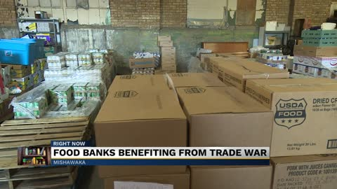 Trade war is helping food bank industry