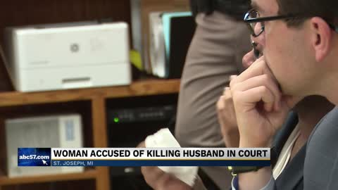 Trial begins for soldier accused of helping murder her husband