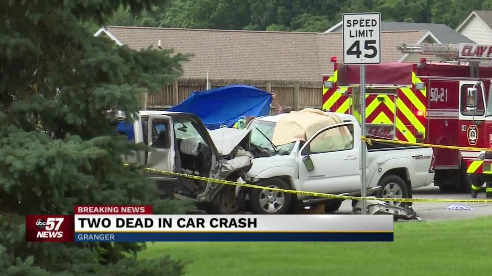 Two killed in crash on SR 23 in Granger