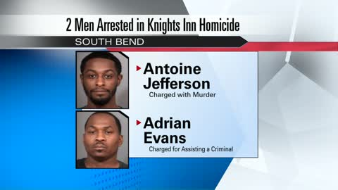 Two men arrested in connection to South Bend murder