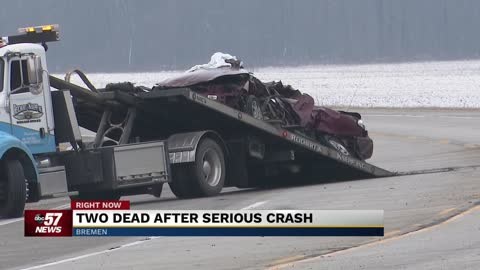 Two people dead after serious crash in Marshall County
