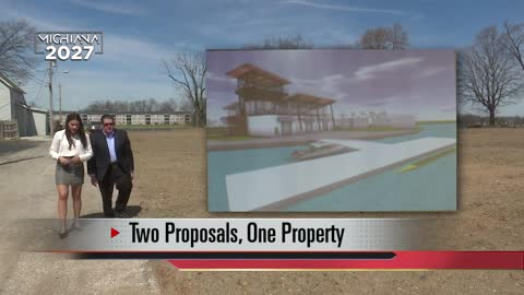 Two proposals for hot property along St. Joseph River in Elkhart