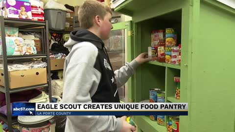 Unique food pantry in LaPorte open to anyone in need