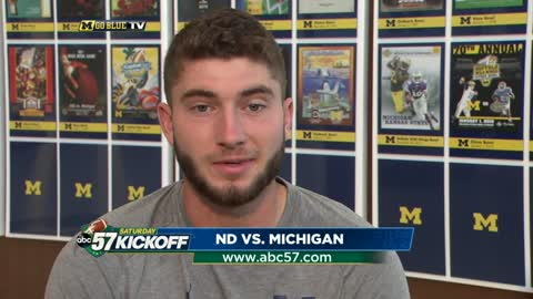 uofm notre dame and michigan ready to begin 2018 with rivalry matchup
