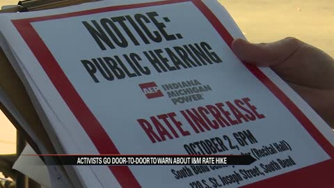 Upcoming public hearing scheduled to discuss I&M rate increases