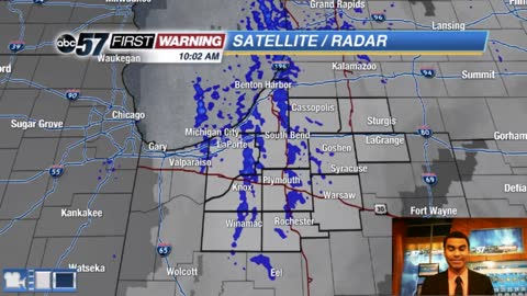 Some L.E. snow showers today