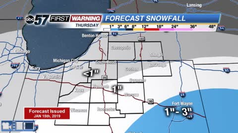 Minor winter weather impacts before significant weekend storm