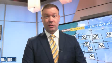 Slow melt through midweek, another messy Friday