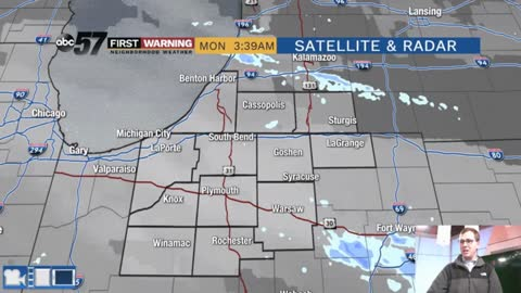 Snow showers thru Tuesday; no big systems to watch