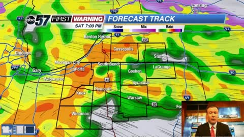 Spring storm brings wind and rain this weekend