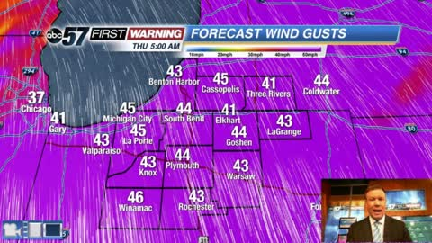 Another spring storm brings wind and rain midweek