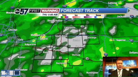 Rain returns Thursday, cool start to April