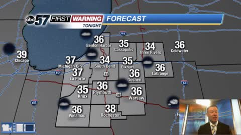 Frosty morning Wednesday then temperatures rebound midweek