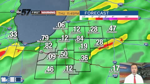 The wet week continues, more rain Thursday