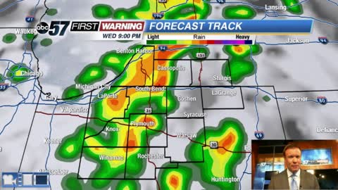 Strong storms likely Wednesday evening