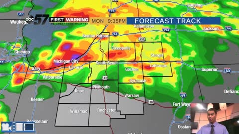 A higher severe threat for Memorial Day